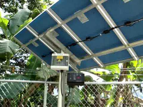 Energia solar para bombeo de agua