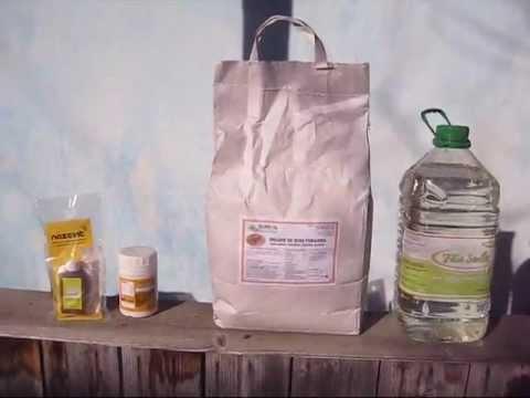 Hrana albine - turta proteica cu drojdie de bere - mod de preparare