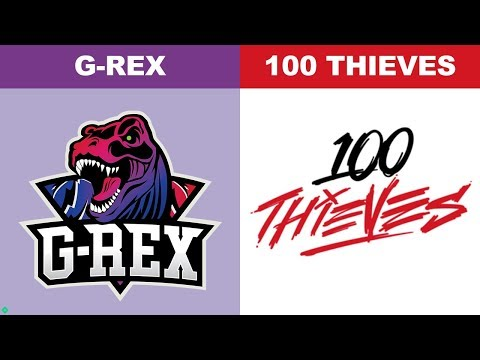 GRX vs 100 Thieves - Worlds 2018 Group Stage Day 8 - G-Rex vs 100T