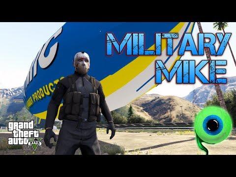 Grand Theft Auto V | MILITARY MIKE!