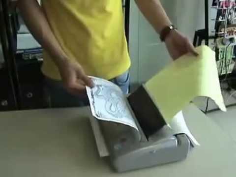 Hướng dẫn sử dụng máy in hình cho, giấy in 4 lớp của xăm hình