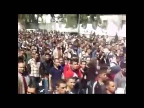 BEJAIA : Marche Contre le Système et Anti 4ème Mandat de Bouteflika,08 Avril 2014