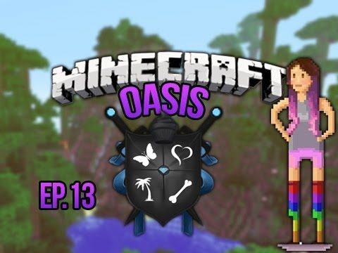 """AIR SHIPS"" Minecraft Oasis Ep 13,"