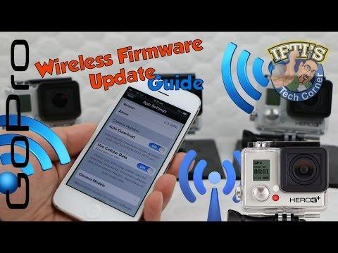 GoPro Wireless Firmware Update Guide - Using GoPro WiFi Smartphone App!