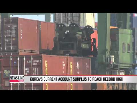 Korea to post record-high current account surplus this year