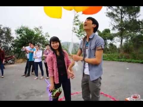 Màn tỏ tình của Nam sinh viên đại học Hải Phòng