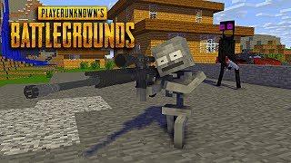 Monster School : Player Unknown Battlegrounds(PUBG) Challenge - Minecraft Animation