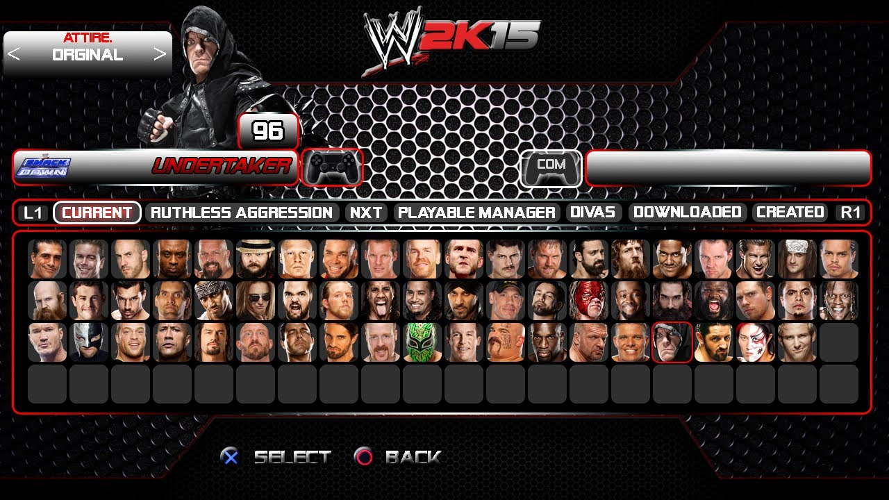 WWE 2K15 - Gameplay full idea Part - 211.6KB
