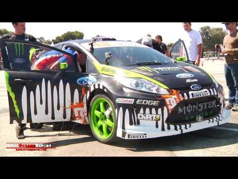 Ken Block tears up Gymkhana Grid with Ford Fiesta