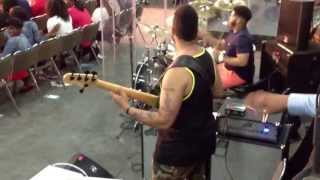 MORGAN TURNER on bass! - COGIC AIM 2013 Midnight Musical