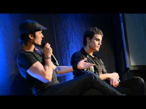 Convention TVD Bloody night con 3 Bruxelles 12/05/13 Ian Somerhalder et Paul Wesley partie 2