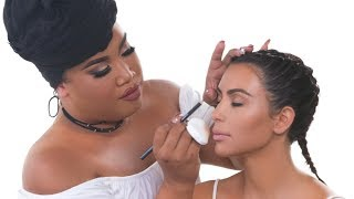 KIM KARDASHIAN WEST MAKEUP TUTORIAL | PatrickStarrr