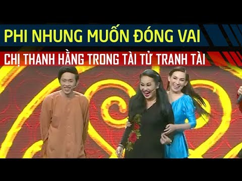 Phi Nhung muốn đóng vai chị Thanh Hằng