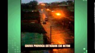 Chove em grande parte do Estado de Minas e s�o registrados estragos e at� morte