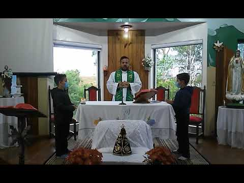 Santa Missa | 09.10.2021 | Sábado | Padre Fernando Silva | ANSPAZ