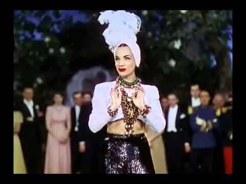 "That Night In Rio (1941) - Carmen Miranda - ""I, Yi, Yi, Yi, Yi (I Like You Very Much)"""