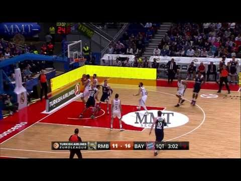 Turkish Airlines Euroleague Top16: Spieltag 3: Real Madrid vs FCBB 111:87