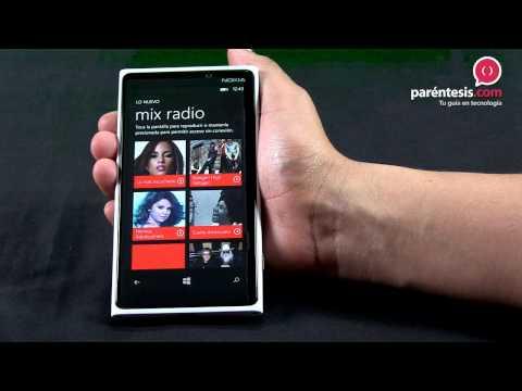 Reseña en video del celular Nokia Lumia 920