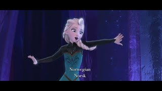 "Disney's Frozen ""Let It Go"" Multi-Language Full Sequence"