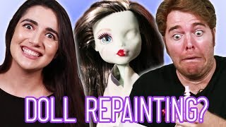 Giving Dolls Tiny Makeovers (feat. Shane Dawson)