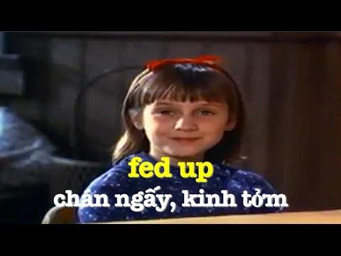 Học tiếng Anh qua phim ảnh: Fed Up - Phim Matilda (VOA)