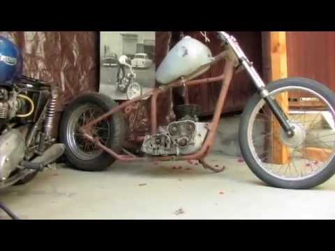 The first ten minutes of The Harbortown Bobber (motorcycle movie)