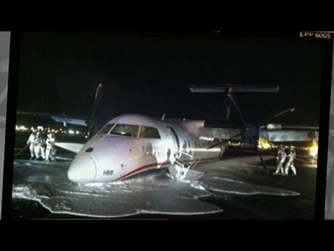 Emergency Belly-Landing at Newark Airport