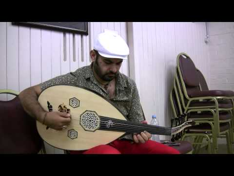 Hijaz Kar - Joseph Tawadros trying his New JT Signature Series Oud by Veysel Sarikus