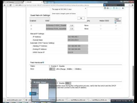 Configuring the ECB1200 as Access Point