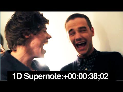 One Direction SUPERNOTE!, One Direction are challenged to see who can hold the longest note! An intense battle backstage at the Radio 1 Teen Awards in Wembley Arena with Dan and Phil....