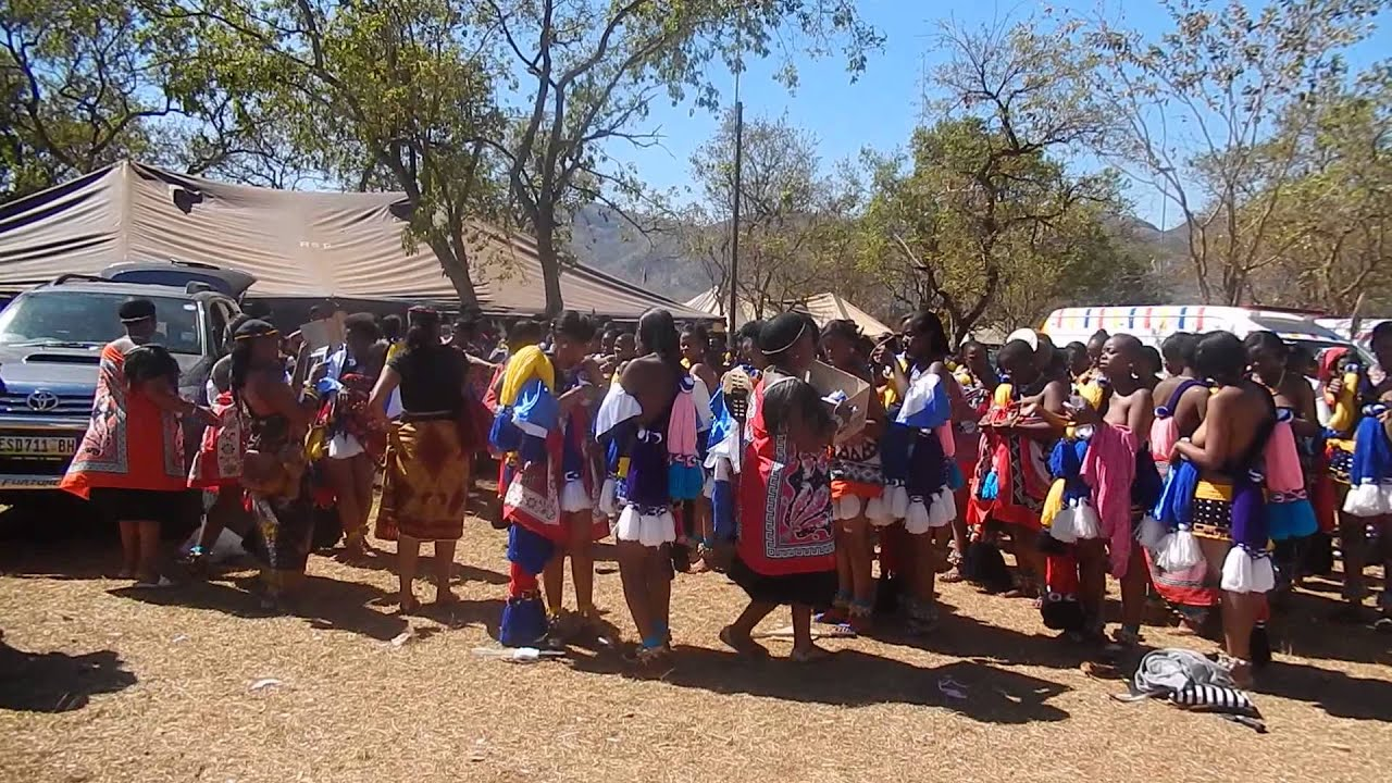 Reed Dance Swaziland 2013