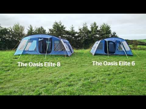 Hi Gear Oasis Elite 6 & 8 Family Tents
