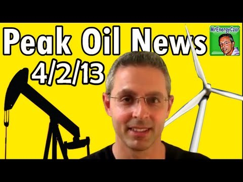 Peak Oil News:  4/2/13  BMW I3, Methane Hydrates, Solar in India