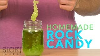 Homemade Rock Candy Sick Science! #188