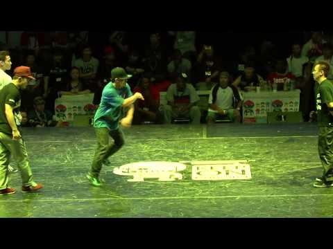 Japan Team (Taisuke Bboy Babylon Kaku ?)vs China Team KOD7 Bboy battle Hd