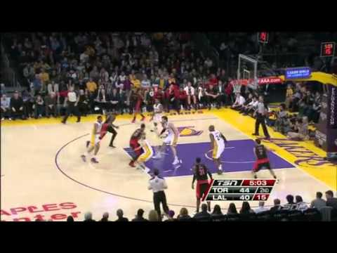 Toronto Raptors vs Los Angeles Lakers December 8, 2013