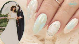 Suzie's Victorian Wedding Nails