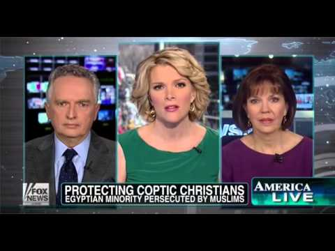 Fox News US silent as Christians are persecuted in Egypt Obama supports the Muslim Brotherhood!