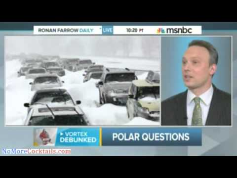 MSNBC: Polar vortex not responsible for weather extremes; Instead blames global warming
