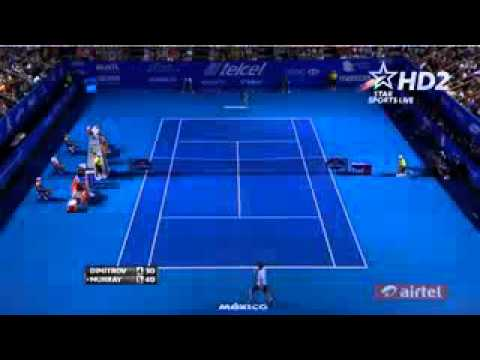 Andy Murray Vs Grigor Dimitrov atp 500 acapulco Semi Final HIGHLIGHTS 2014