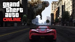 GTA 5 Easter Egg Godzilla Location (GTA 5 Easter Eggs