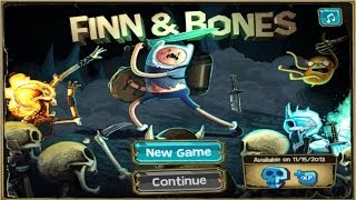 Cartoon Network Games: Adventure Time Finn And Bones