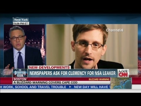 Should NSA leaker Snowden get clemency?