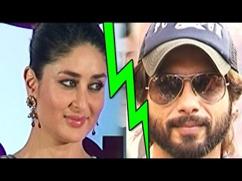 Shahid Kapoor disagrees with Kareena Kapoor