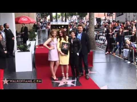 Julianne Moore Walk of Fame Ceremony