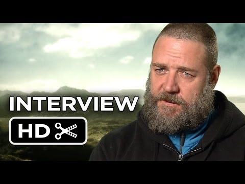 Noah Interview - Russell Crowe (2014) - Darren Aronofsky Movie HD