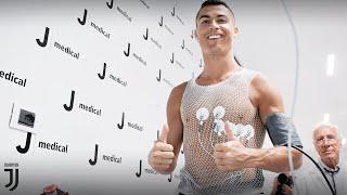 Cristiano Ronaldo undergoes Juventus medical