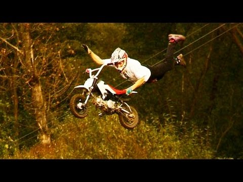 Dirt Bike - Crazy riding in Czech Republic
