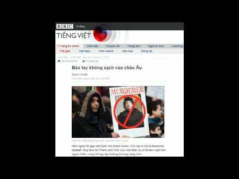 21-02-2011 - BBC Vietnamese - Bàn tay không sạch của châu Âu