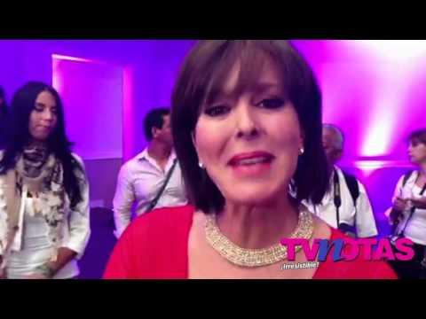 Margarita Gralia envía saludo al público de TVNotas.com